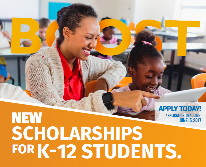 Scholarship Opportunity for K-12 Students