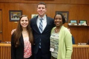 The Board of Education (BOE) of Calvert County Public Schools (CCPS) recognized the Northern High Future Business Leaders of America (FBLA) members - 2016