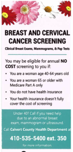 BREAST AND CERVICAL CANCER SCREENING