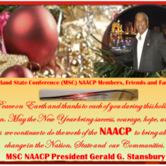 NAACP Merry Christmas and Happy New Year 2019