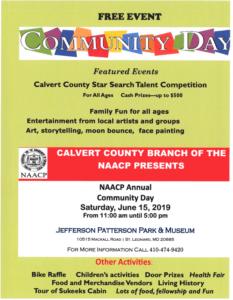Community Day on June 15, 2019